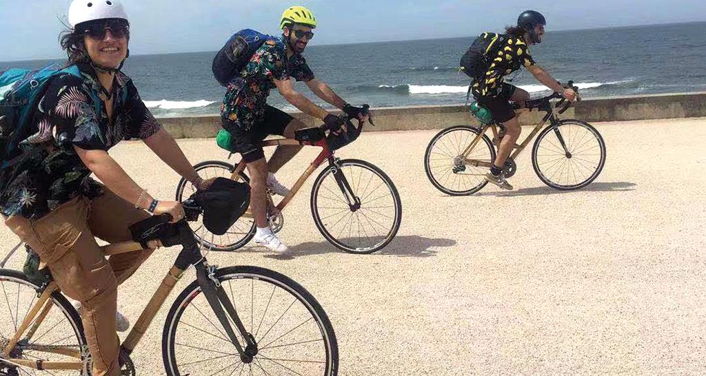 Bicicletas de bambu, made in Curia, querem conquistar a região e o país