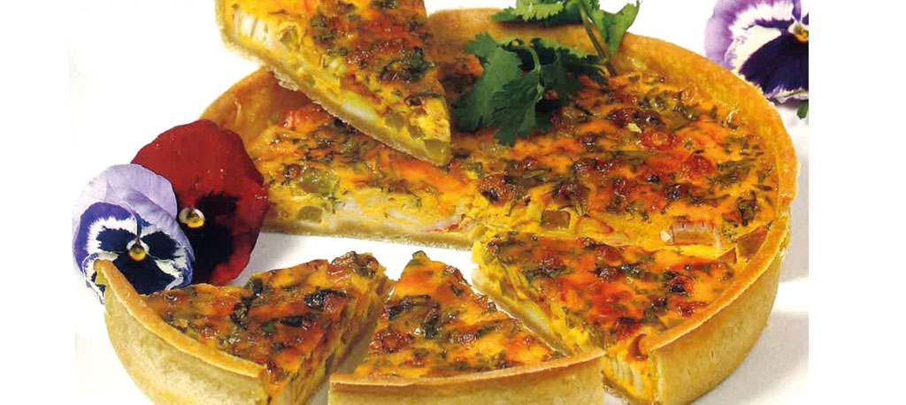 Receita da Semana: Quiche de frutos do mar