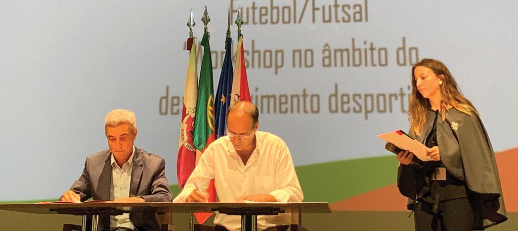 Município de Oliveira do Bairro assina protocolo com FPF e AFA