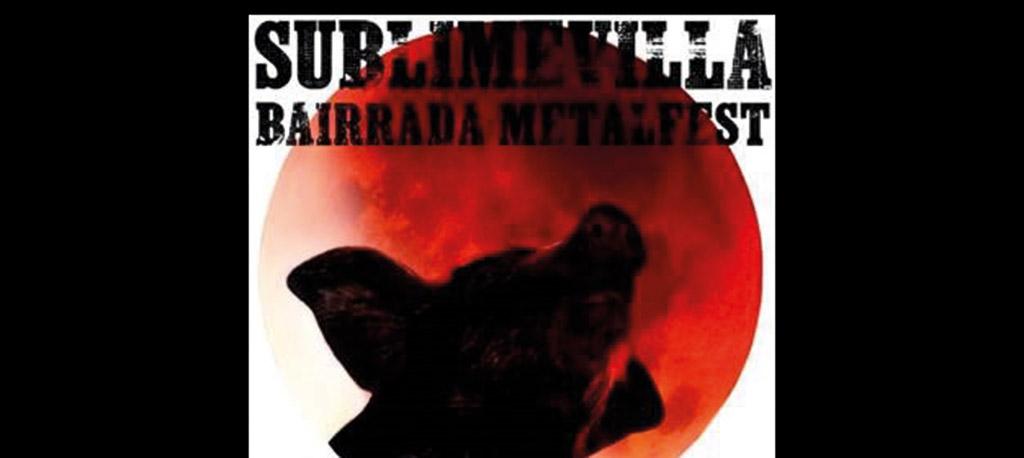 ANCAS: SublimeVilla Bairrada MetalFest em outubro