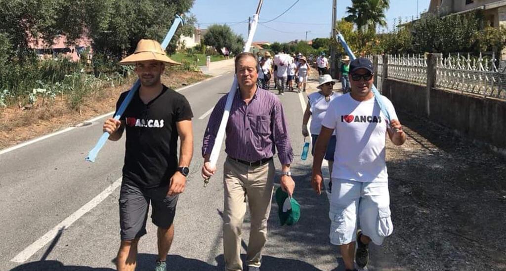 Vagos: Povo de Ancas renova promessa multissecular