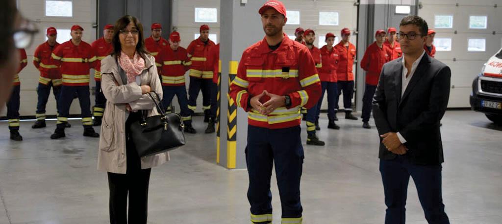 Anadia: Renovação da frota dos bombeiros visa prestar mais e melhor serviço