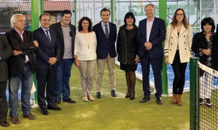 Campos de padel inaugurados em Cantanhede