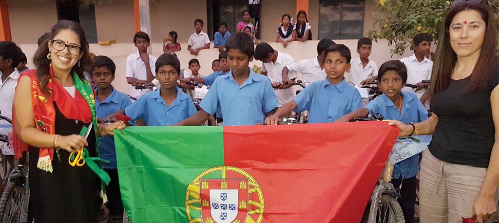 Anadia: Jantar Solidário – Bairradinas oferecem casa a família indiana
