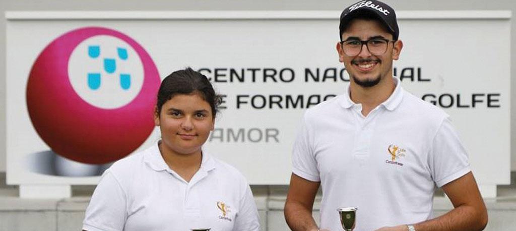 Bernardo e Aline campeões nacionais