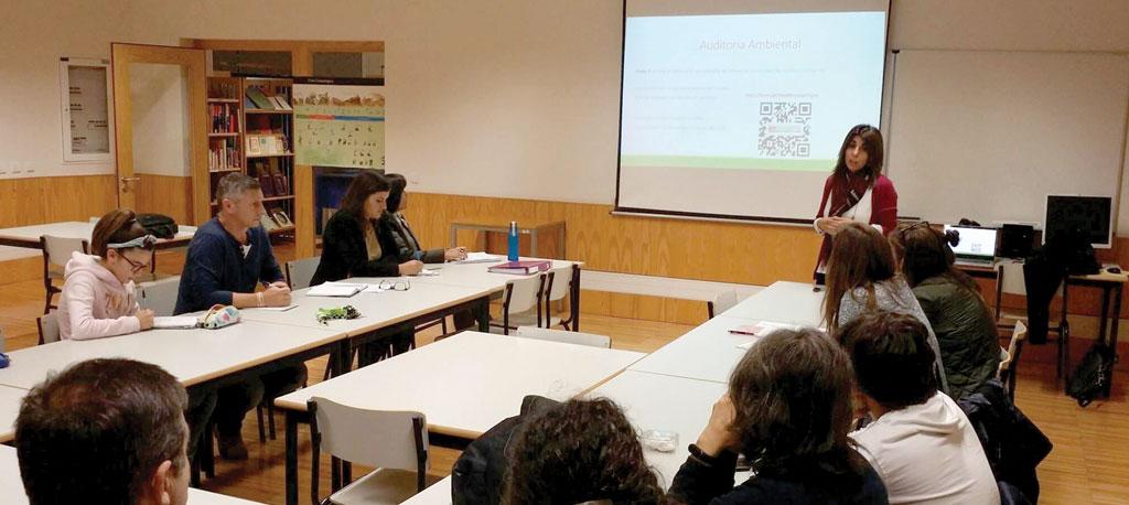 Escola Básica e Secundária de Anadia: Recém criado Conselho Eco-Escolas com ambicioso plano de ação já em marcha