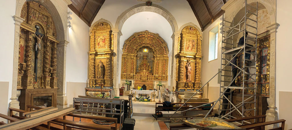 Pároco de Oliveira do Bairro conclui as obras da Igreja antes de partir para missão