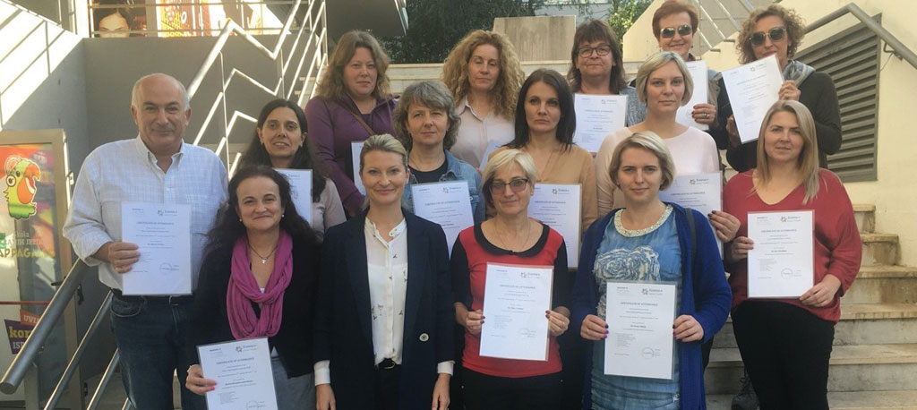 Anadia: Quatro professores do AEA participam em seminário de formação na Croácia