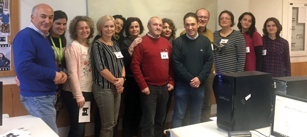 Agrupamento Escolas Anadia: Docentes de quatro países visitam concelho e região