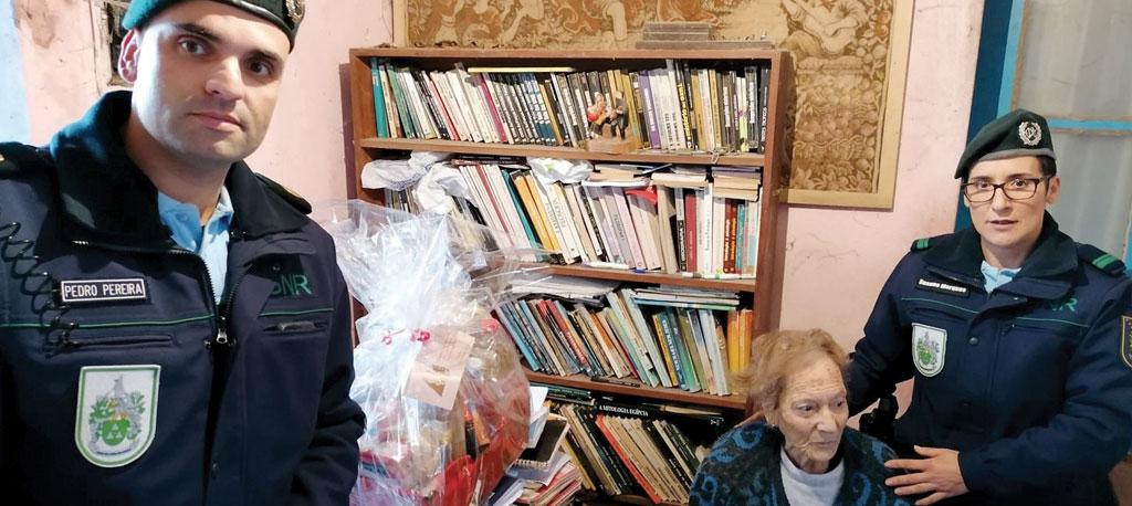 GNR distribuiu cabazes a idosos em Águeda