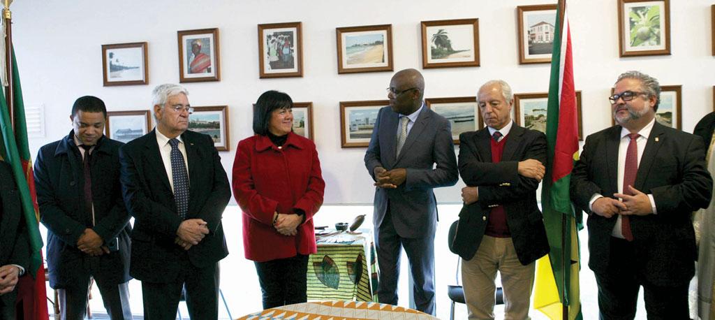 Município recebe Consulado de S.Tomé