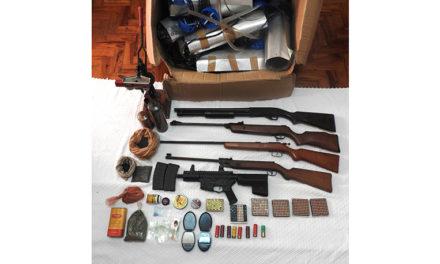 Anadia e Cantanhede: Violência doméstica leva GNR à apreensão de 5 armas