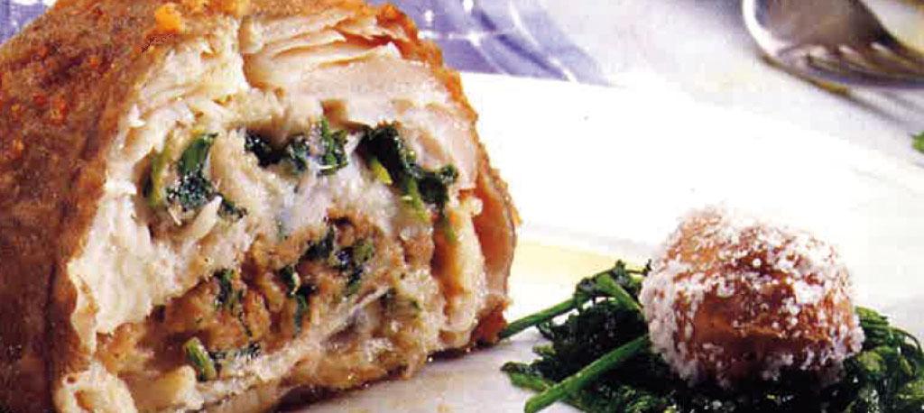 Receita da semana: Bacalhau recheado com grelos e broa