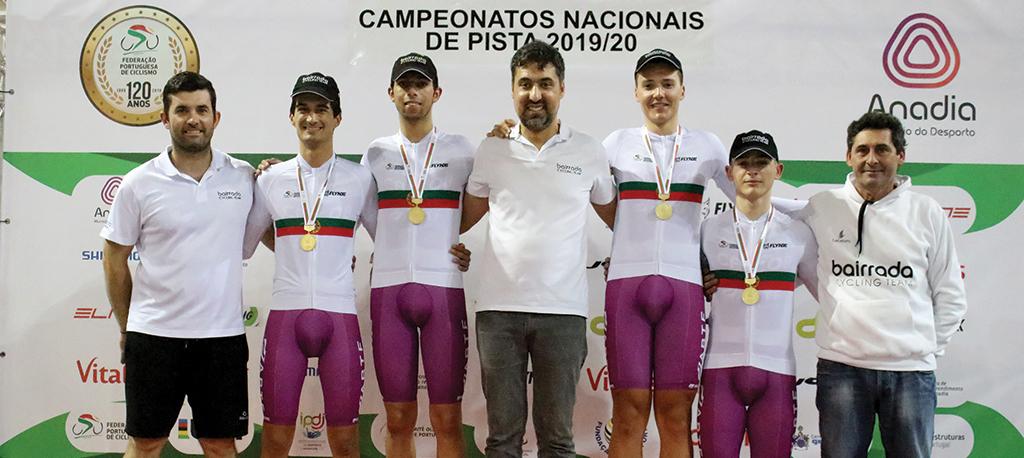 CC Bairrada campeão nacional de perseguição por equipas
