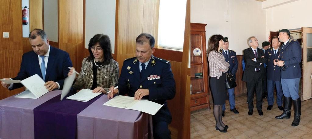 Reabilitação do Destacamento Territorial de Anadia da GNR custa um milhão de euros