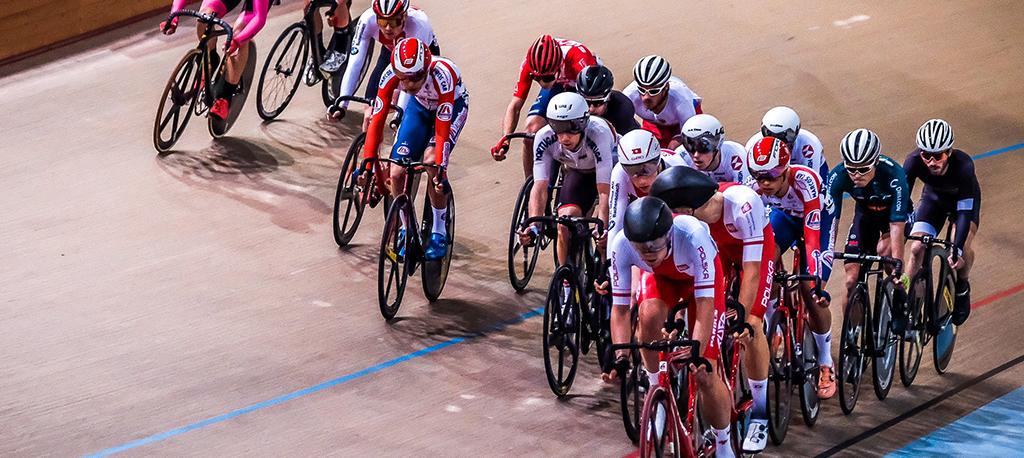 Velódromo recebe grandes nomes internacionais do ciclismo de pista