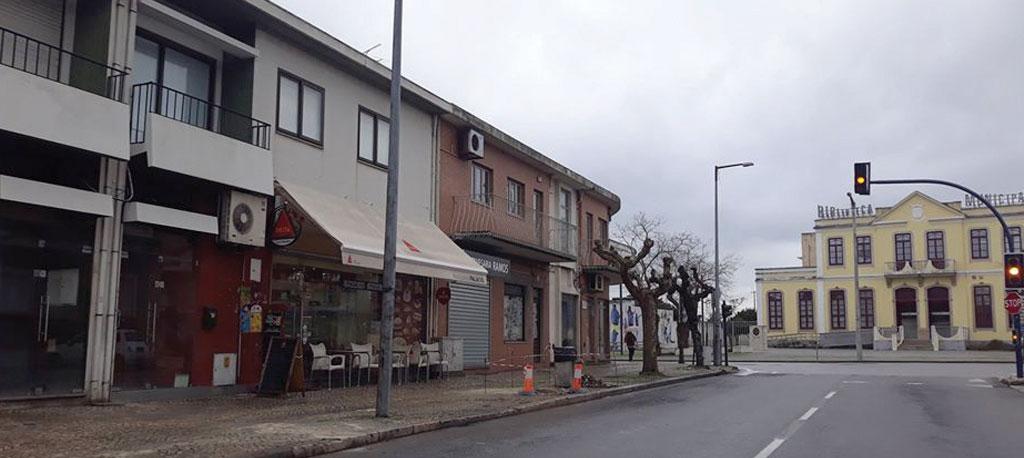 Av. Dr. Lúcio Vidal (Vagos): Cortina de abrigo substitui corte de árvores