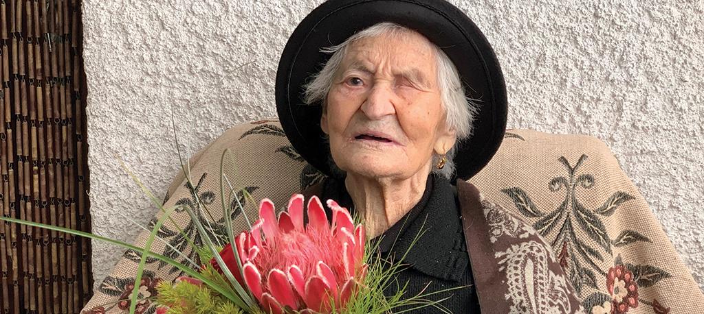 Marvão: Mulher mais velha da Bairrada celebra 105 anos