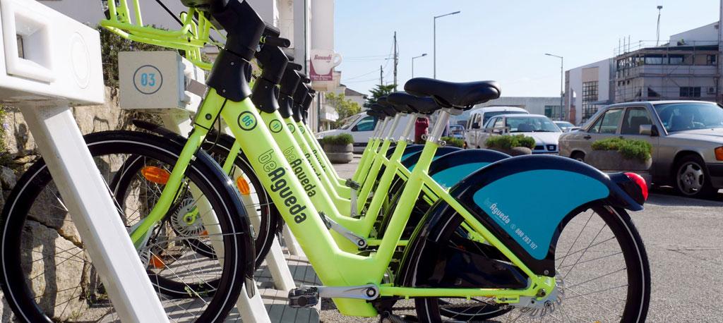 Bicicletas elétricas de Águeda com novo conceito e imagem renovada