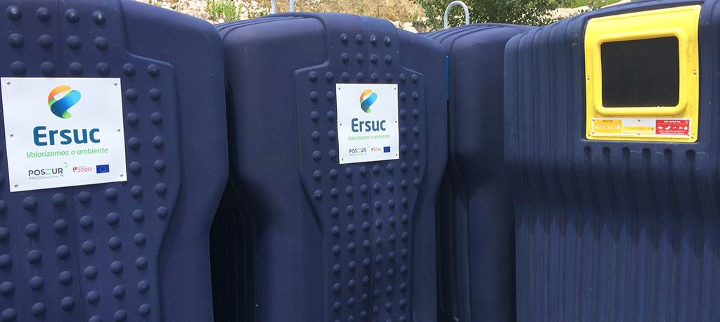 ERSUC pede à população novos cuidados na deposição de lixo