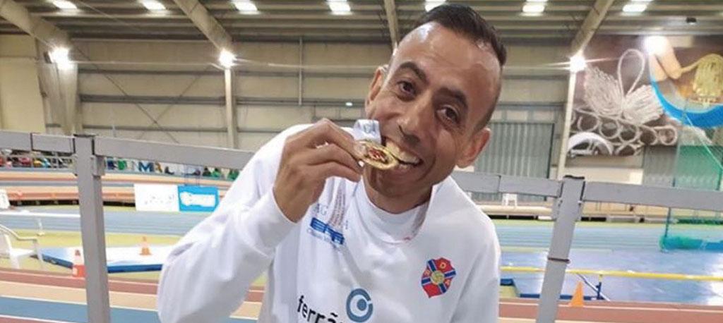 Luís Miguel é campeão nacional de masters