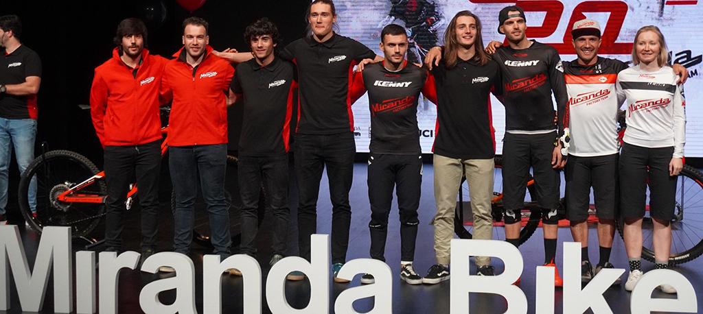 Miranda Factory Team apresentada em Águeda em tarde de gala