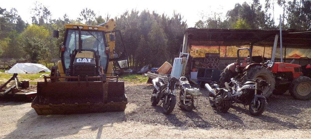 Anadia: GNR recupera trator agrícola furtado furtado em Nariz