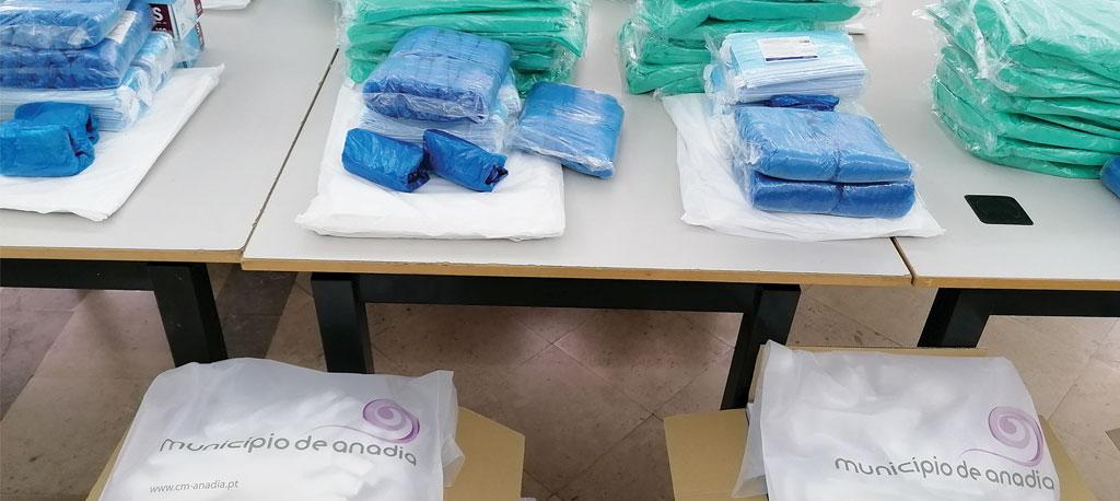 Anadia: Câmara Municipal distribui equipamentos de proteção