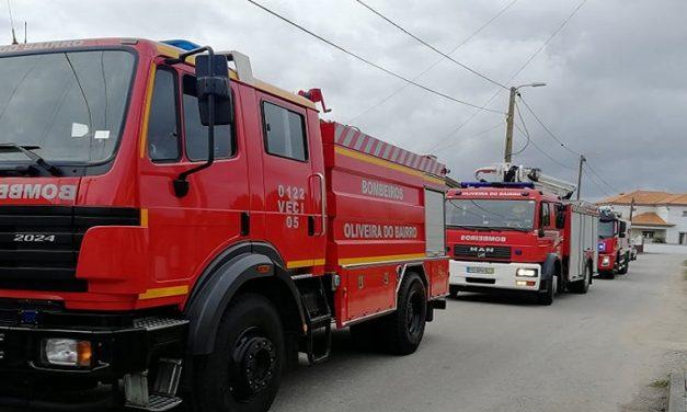 Palhaça: Incêndio numa caldeira na Travessa das Capelinhas