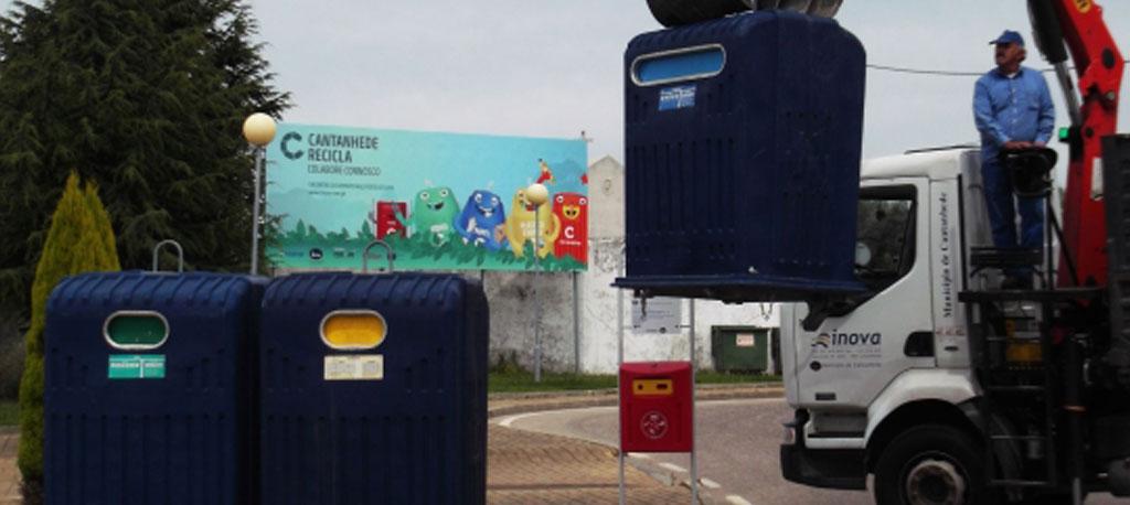 Município de Cantanhede e INOVA recomendam a separação de lixo doméstico