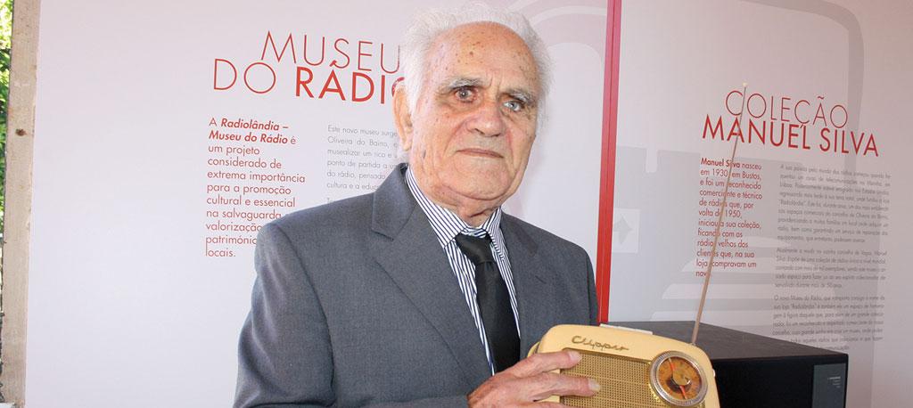 Bustos: Morreu Manuel Silva, colecionador que esteve na origem da criação do Museu do Rádio