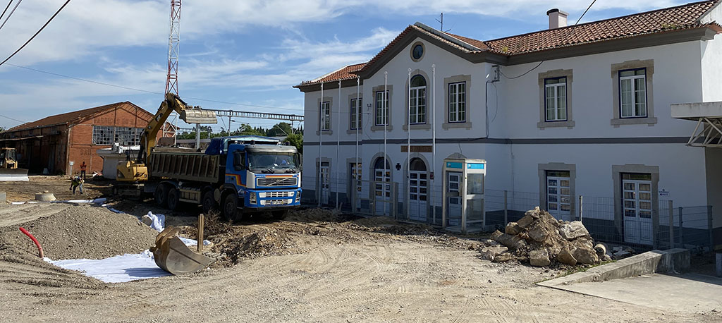 O. do Bairro: Mais de 700 mil euros para requalificar zona da Estação da CP