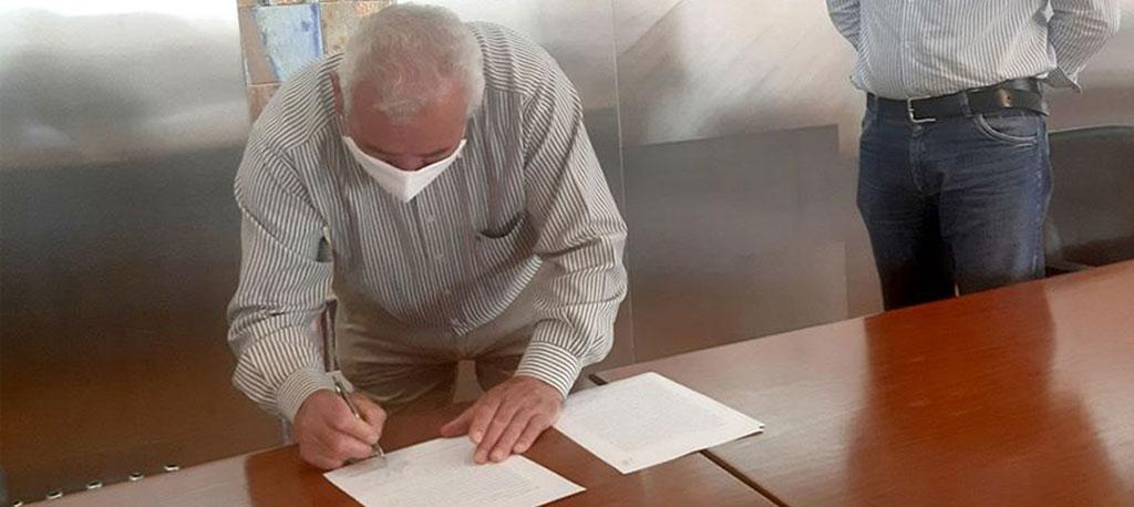 O. do Bairro: Contrato assinado para empreitada de construção da Unidade de Saúde da Palhaça