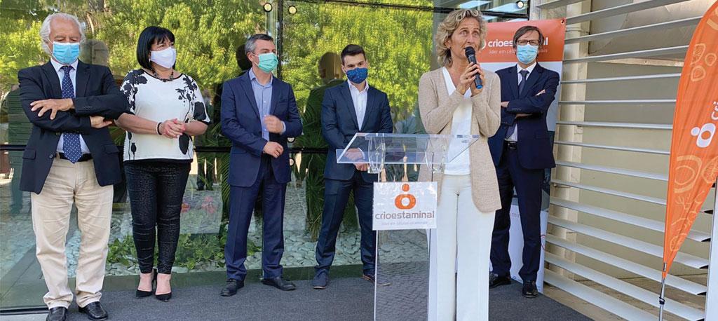 Cantanhede: Crioestaminal inaugura nova unidade  de produção de medicamentos inovadores