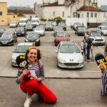"""Águeda viveu um """"Drive-i!"""" com famílias felizes dentro dos carros"""