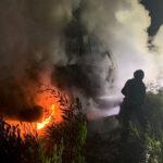 Bombeiros de Cantanhede apagam incêndio em máquina florestal