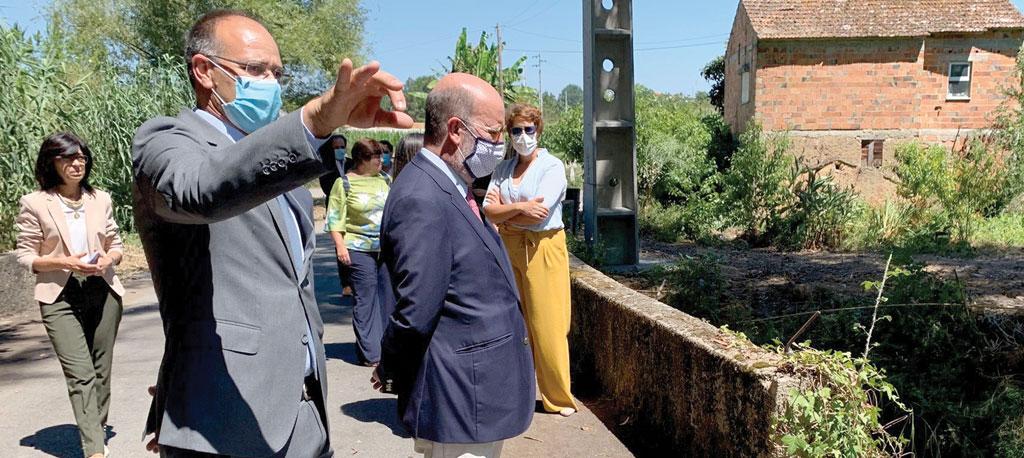 Oliveira do Bairro e Anadia assinam protocolo para reabilitação do rio Levira