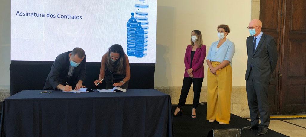 Universidade de Aveiro vai ter sistema pioneiro de reciclagem de embalagens