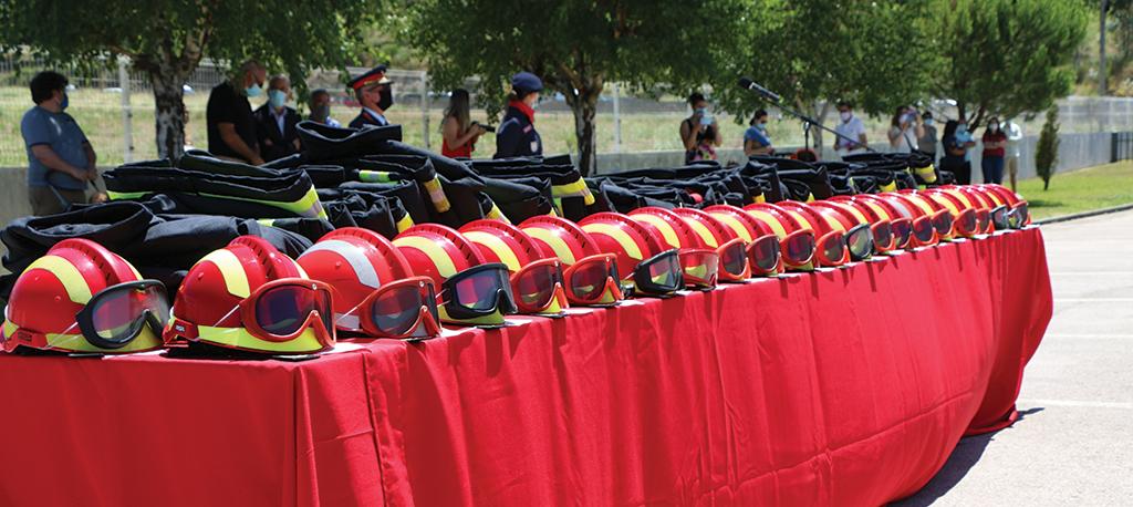 Bombeiros de Oliveira do Bairro ganham mais 22 operacionais