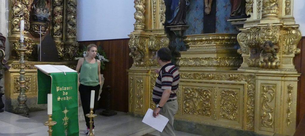 Obras de restauro na Igreja de Sangalhos ficam concluídas em dezembro