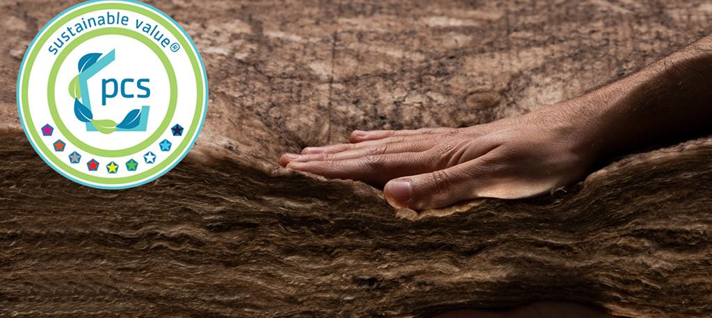 Empresas: Lã mineral Volcalis com Certificado de Sustentabilidade