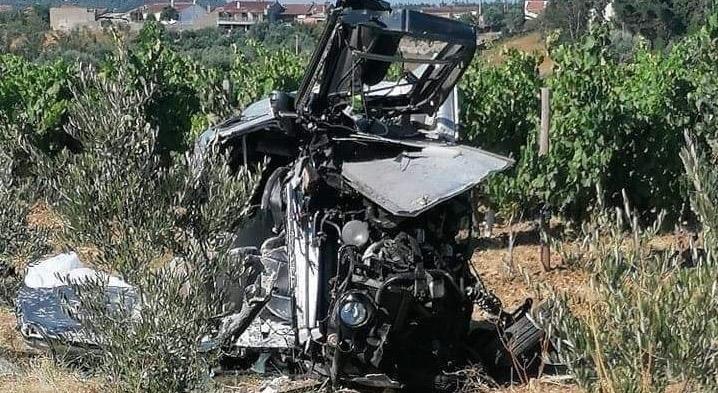 Anadia: Acidente causa vítima mortal em Grada