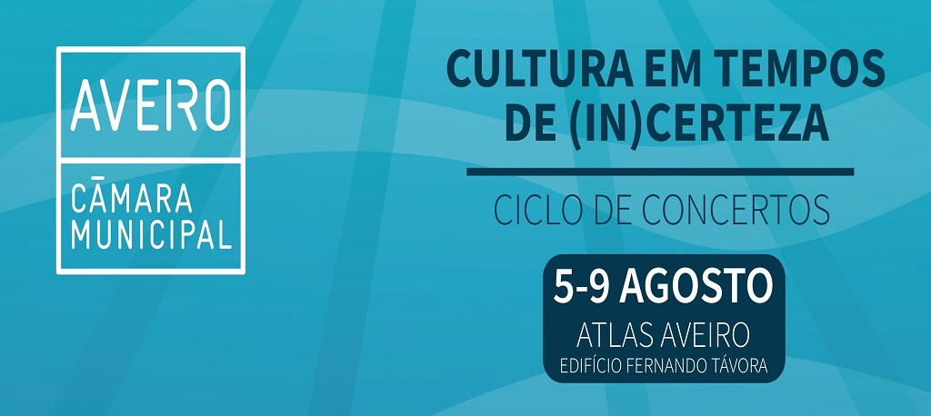 Câmara de Aveiro avança com ciclo de concertos com músicos e técnicos locais