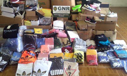 Vilarinho do Bairro: Apreensão de artigos contrafeitos no valor de 70 mil euros