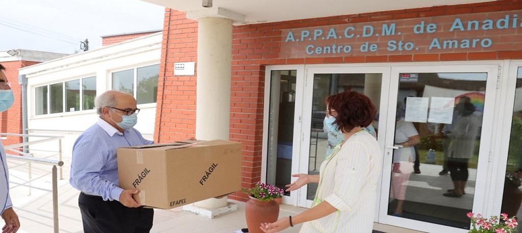 Mealhada: Câmara compra máscaras comunitárias de proteção para a população