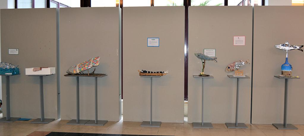 """""""A Bela da Sardinha"""" está em exposição na Biblioteca Municipal de Cantanhede"""