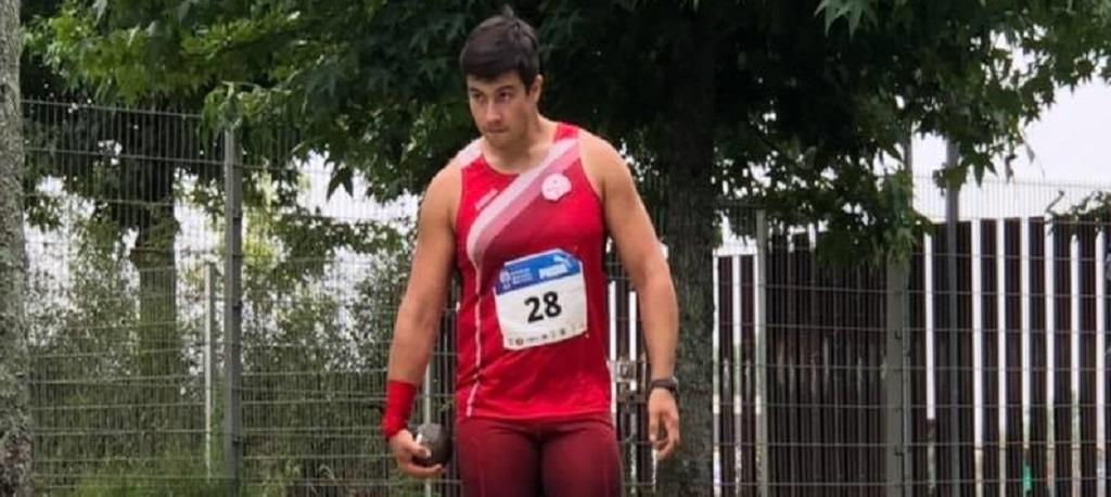 ADREP: Tiago Nunes sagra-se vice-campeão nacional de lançamento do peso