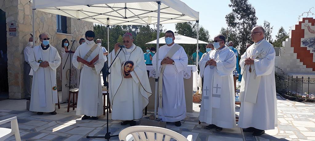 Casa de Éfeso da Junqueira: Inauguração com apertadas medidas de segurança