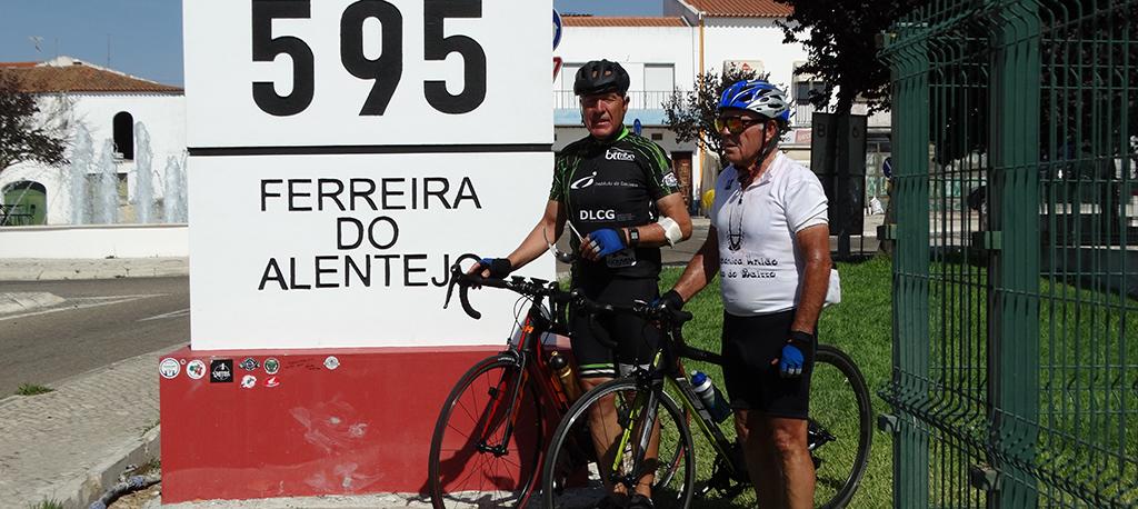Dois oliveirenses pedalaram a mítica Estrada Nacional 2 em seis etapas