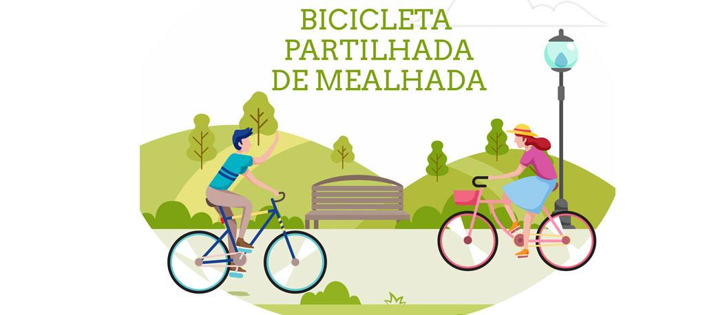 Mealhada: Câmara lança concurso de ideias para nome e imagem do projeto de bicicleta partilhada